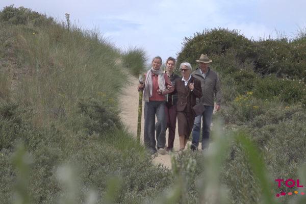 drone duinen dichtbij
